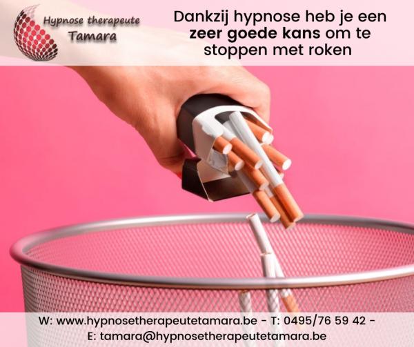 Stoppen met roken door hypnose